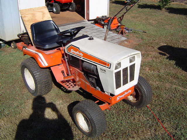 Garden Tractor Restoration Parts : Simplicity engine parts free image for